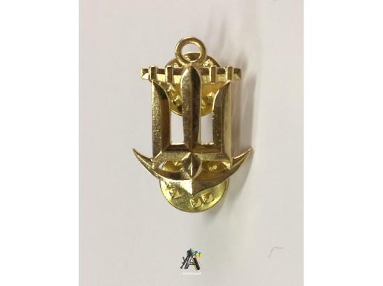 Эмблема морская / Металлическая
