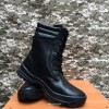 берцы комбат кожа натуральный мех обувь