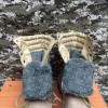 Берцы EXTREME нубук+кордура песок