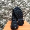 берци комбат шкіра натуральне хутро взуття