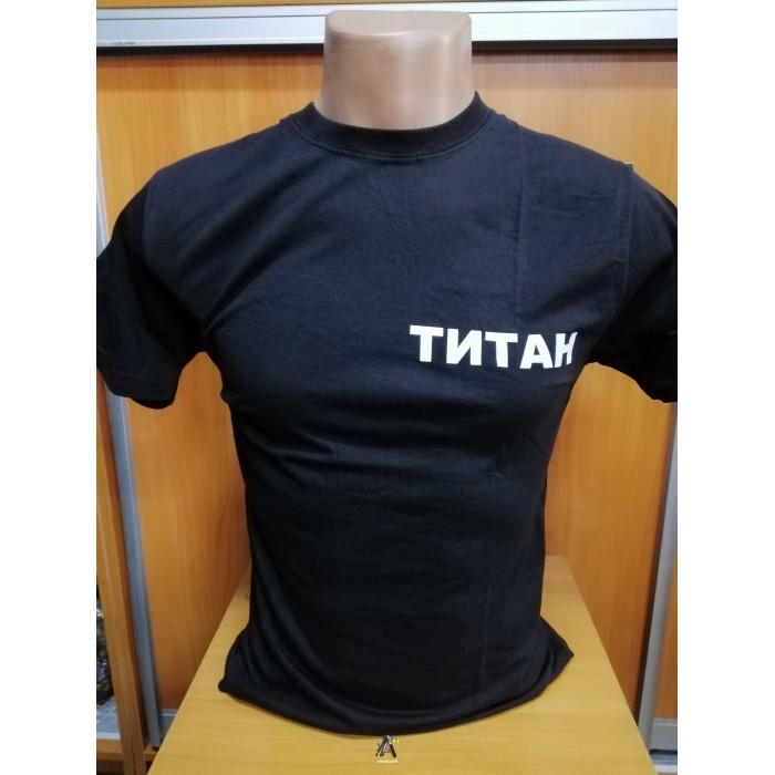 футболка титан чорна