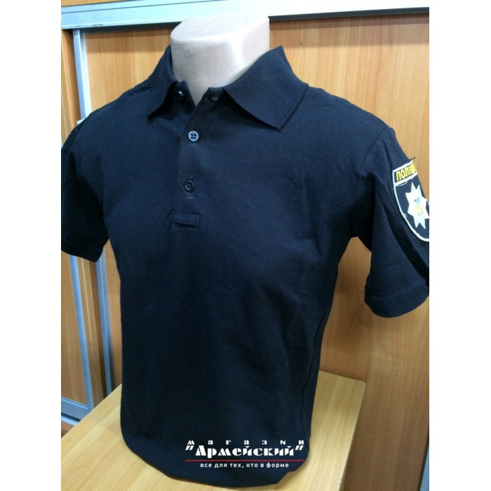 Футболка Поліція, поло з шевронами