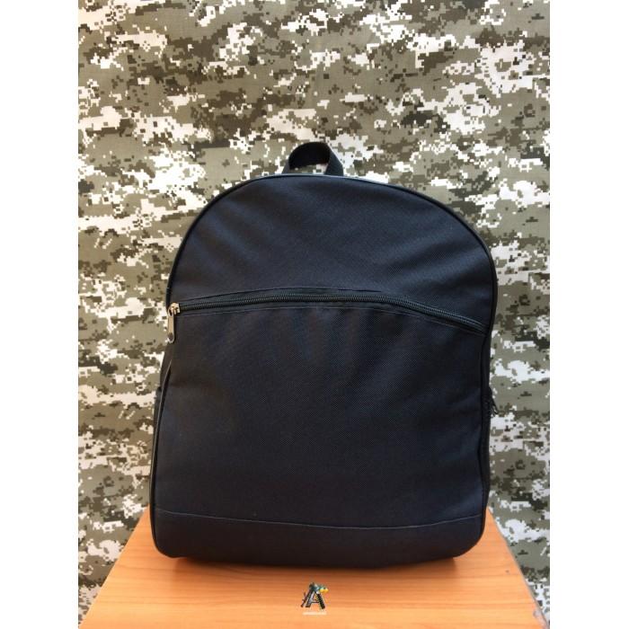 Городской рюкзак. Черный