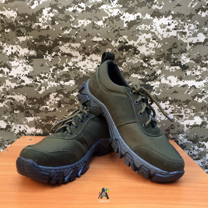 Тактичні кросівки Extreme / Олива, нубук