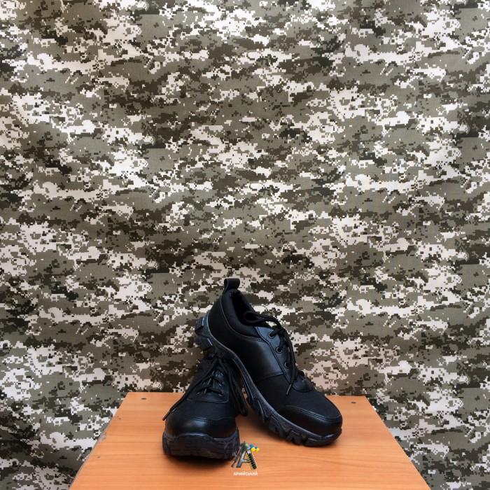 Тактичні шкіряні кросівки Extreme / Чорний