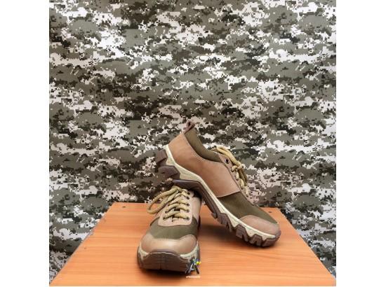 Тактические кроссовки Extreme / Беж / Олива