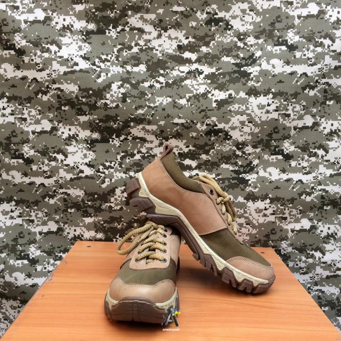 Тактичні кросівки Extreme / Беж / Олива