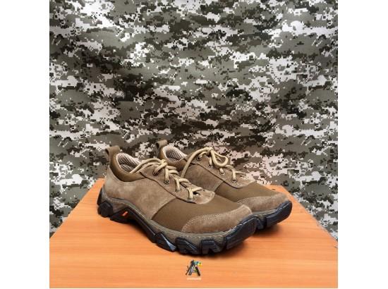 Тактические замшевые кроссовки Extreme / Олива