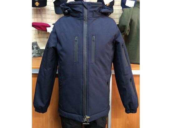 Куртка Soft-shell Синяя / Зима