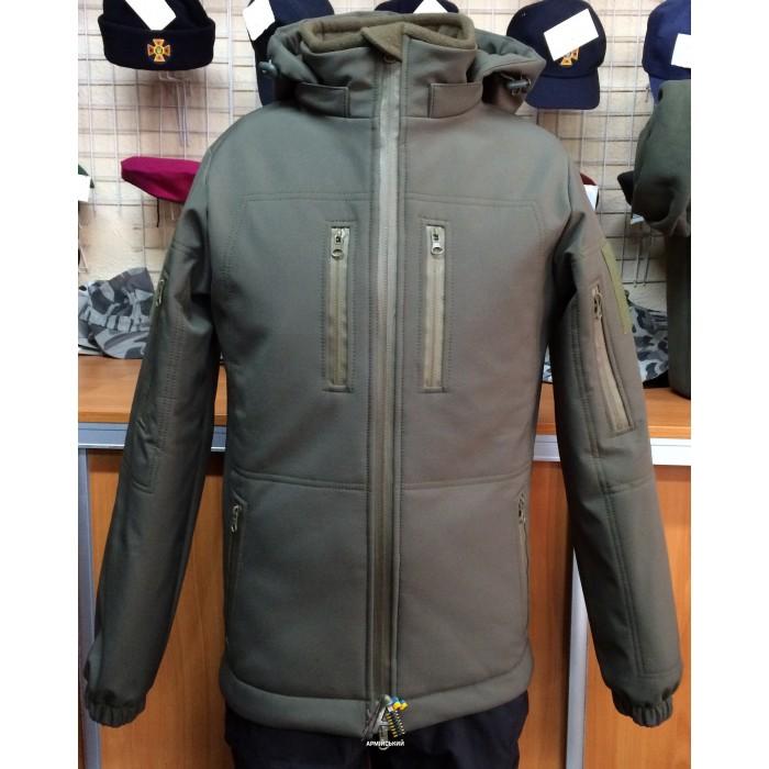 Куртка Soft-shell Олива/ Зима