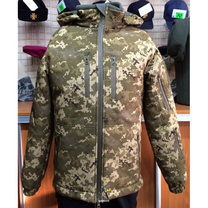Куртка Soft-shell Пиксель/ Зима