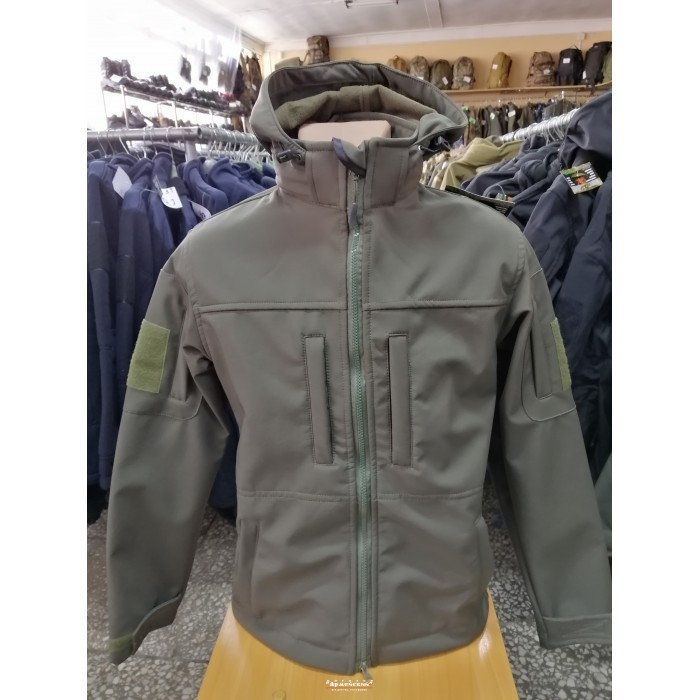 Куртка softshell колір олива