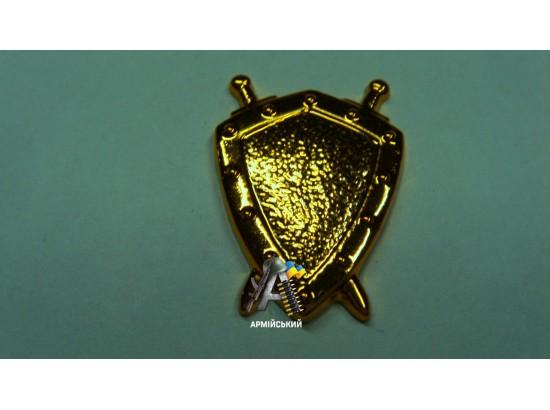 Эмблема юстиции золотая, нового образца