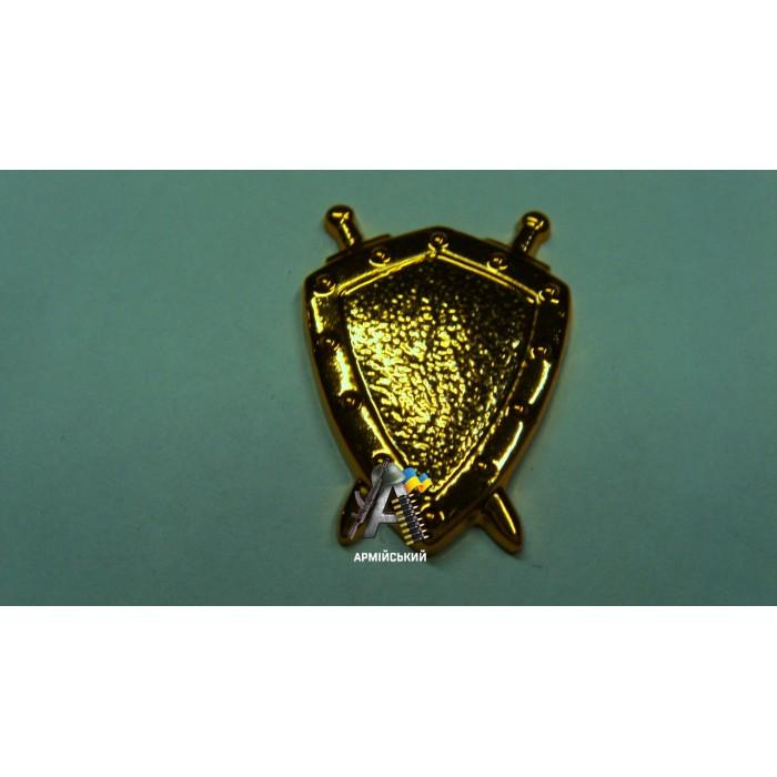 Емблема юстиції золота, нового зразка