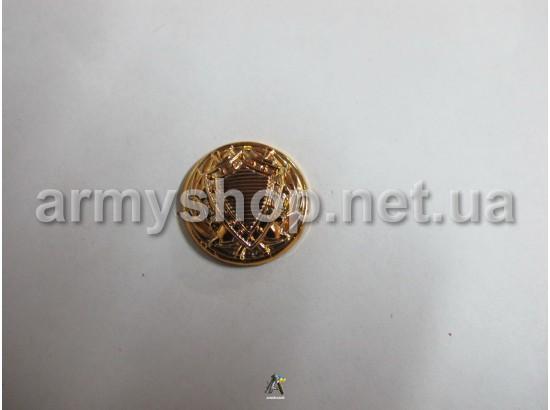 Пуговица Юстиция большая, золотая
