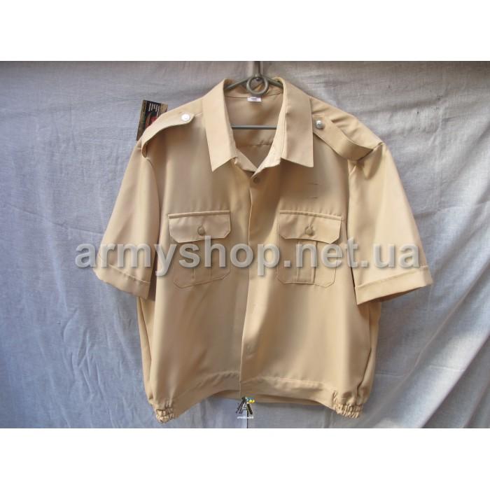 Рубашка МВД бежевая, короткий рукав
