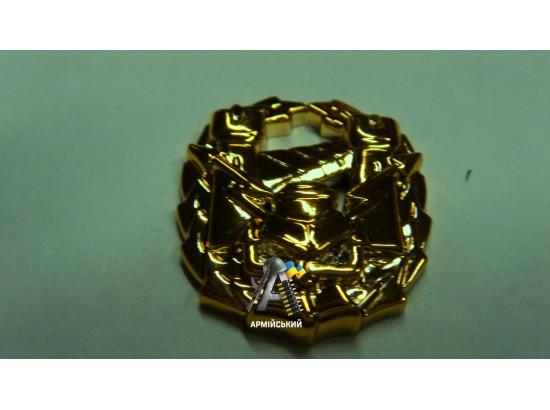 Емблема інженерних військ, золота