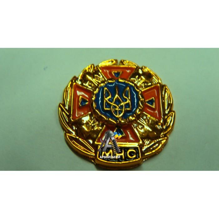 Емблема МНС золота, помаранчевий хрест
