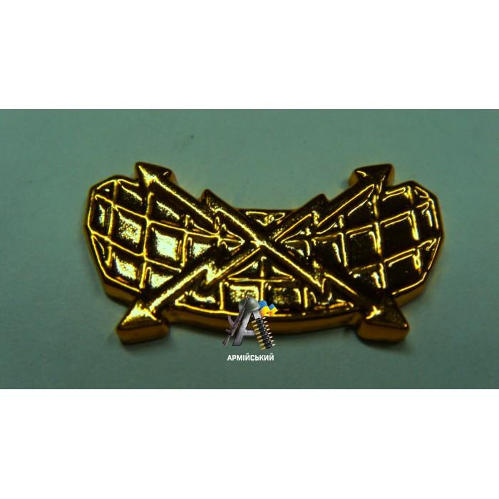 Емблема радіотехнічних військ золота, нового зразка