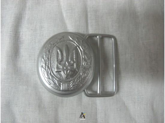 Пряжка парадная серебро