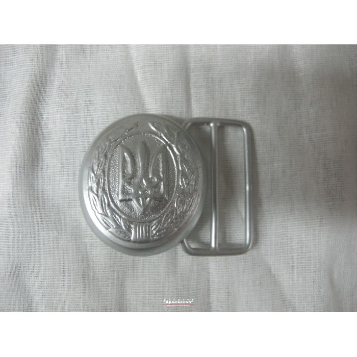 Пряжка парадна срібло