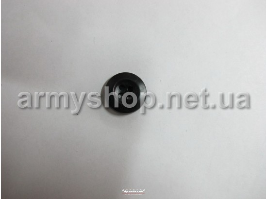 Пуговица на 4 удара, черная