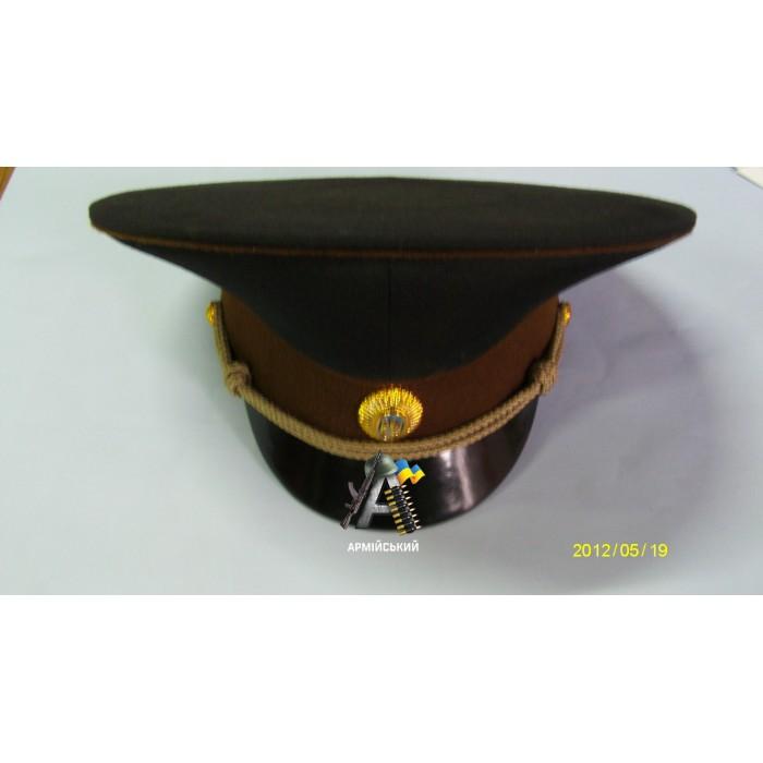кашкет МНС коричнева шита в зборі