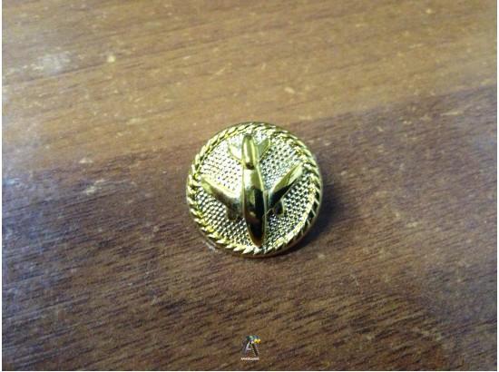 Гудзик ВВС Літаки золота велика