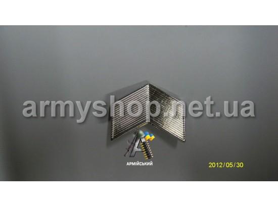 Лычка старший сержант серебряная
