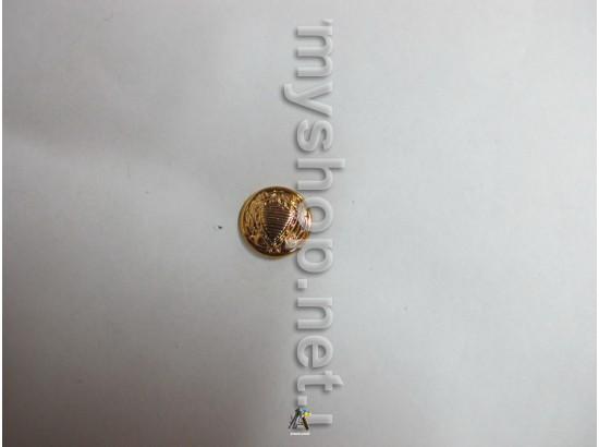 Пуговица Юстиция маленькая, золотая