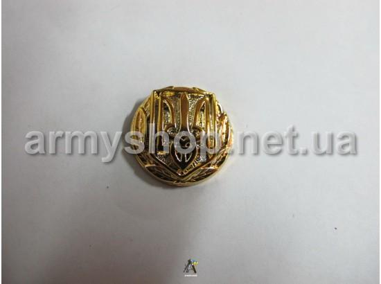 Пуговица МО генеральская, большая, золотая