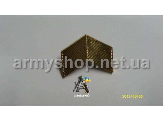 Лычка старший сержант золотая