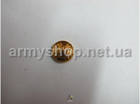 Пуговица Пограничная маленькая, золотая