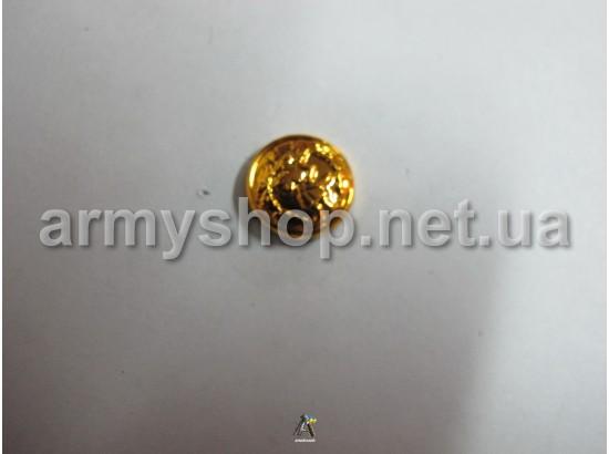 Пуговица Казачья маленькая, золотая