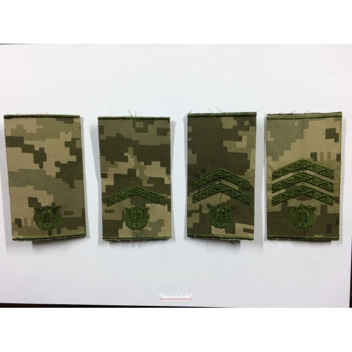 Погони курсантів військових навчальних закладів Збройних Сил України муфта піксель