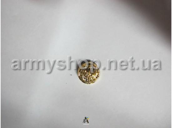 Пуговица МО генеральская, маленькая, золотая