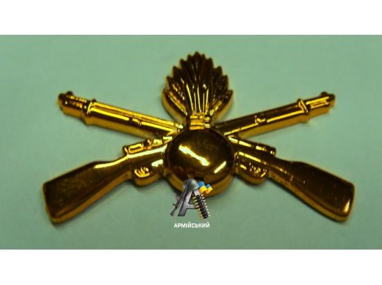 Эмблема береговой охраны золотая, нового образца