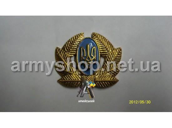 Кокарда солдатская золотая