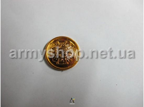 Пуговица МЧС большая, золотая