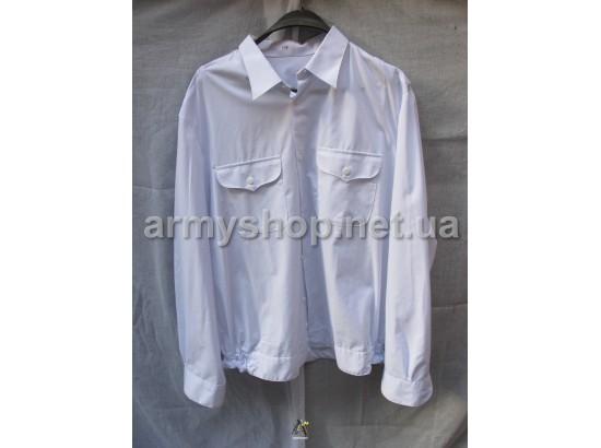 Рубашка МО белая, длинный рукав