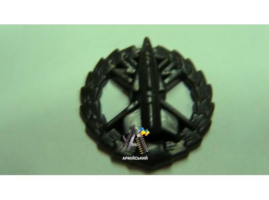 Эмблема зенитно-ракетных войск полевая