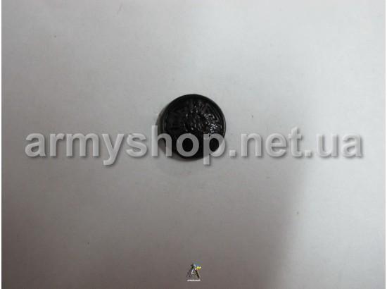 Пуговица МЧС маленькая, черная