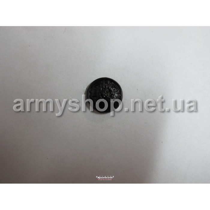 Гудзик МНС маленька, чорна