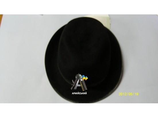 шляпка женская МВД,МЧС, фетр черная