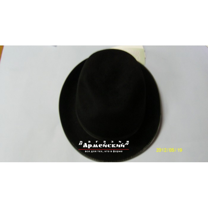 капелюшок жіноча МВС, МНС, фетр чорна
