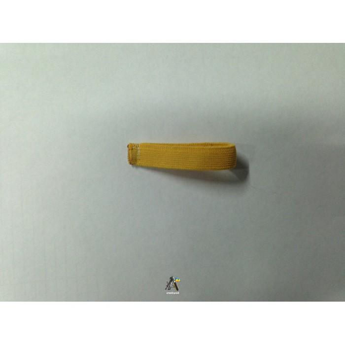 Лычка резинка узкая желтая и зеленая