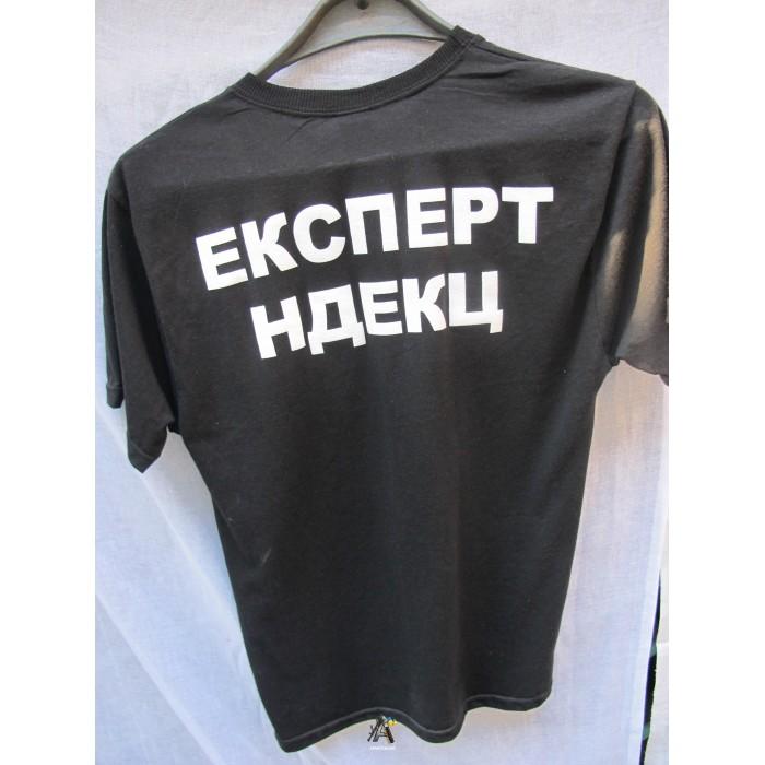 футболка черная эксперт НДЕКЦ