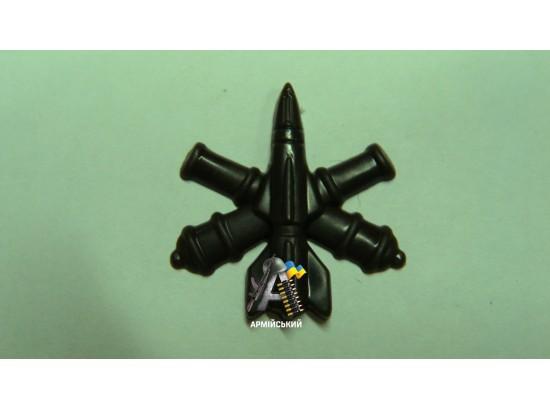 Емблема зенітно-ракетних військ польова, нового зразка