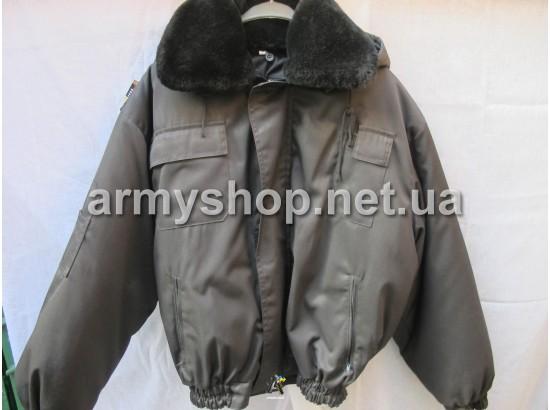 """Куртка """"Барс"""", черная"""
