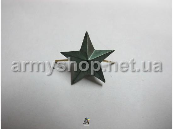Звезда большая, полевая,гладкая, металлическая